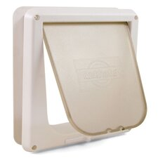 <strong>Pet Safe</strong> White Deluxe Four-Way Cat Flap