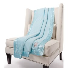 Luxe Solid Fabric Throw