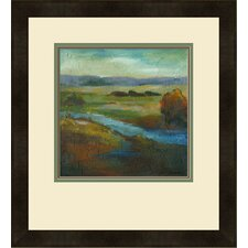"Modern ""Barons Creek Vista II"" by Combs Giclee Framed Painting Print"
