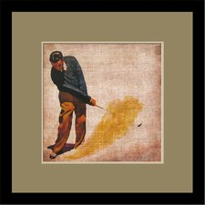 Vintage Golf by Butler Custom Framed Wall Art