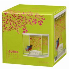 Marina 0.5 Gallon Girl Theme Betta Aquarium Kit