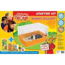 Living World Rabbit Cage Starter Kit