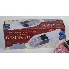 Four-Deck Acrylic Dealer Shoe