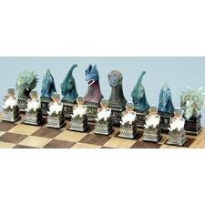 Dinosaur Chessmen