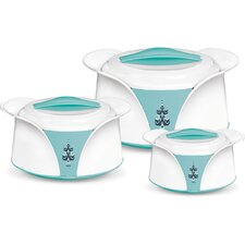Imperial 3 Piece Oval Casserole Set