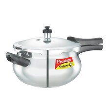 Deluxe Plus 3.49-Quart New Flat Base Aluminum Pressure Handi