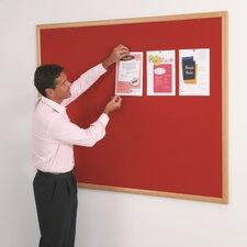 Eco-Friendly Noticeboards - Light Oak Effect Frame
