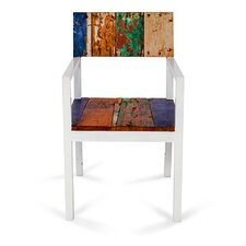 Neptune Reclaimed Wood Side Chair