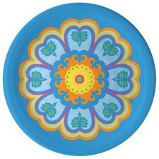 "Gelato 8"" Melamine Medallion Salad Plate (Set of 4)"