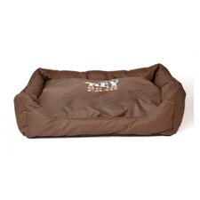 El Rey De La Casa Dog Bed in Brown