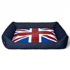 London Bed in Indigo Demin
