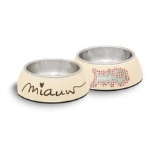 Miauw and Bone Fish Bowl in Beige