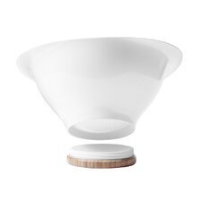 Ventu Salad Bowl in White