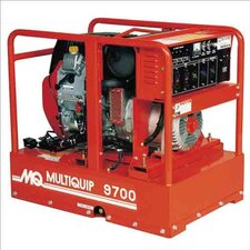 <strong>Multiquip</strong> 9,700 Watt Honda Portable Gasoline Generator with Recoil or Electric Start
