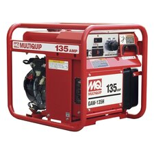 1,500 Watt Honda  GX200 135A DC Welder / 1.5 KW Generator with Recoil Start