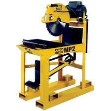 MasonPro 2 19.5 Amp 5 HP 230 V 3 Phase Electric Masonry Table Saw
