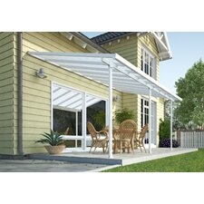 "Feria™ 9'4"" H x 48' W x 13' D Patio Cover Awning"