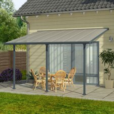 "Feria™ Patio Cover 10' H x 20' W x 9'8"" D Patio Cover Awning"