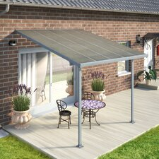 "Feria™ Patio Cover 10' H x 10' W x 9'8"" D Patio Cover Awning"