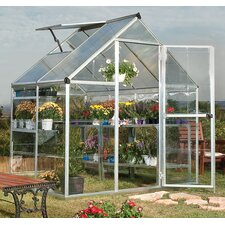 Hybrid 6 Ft. W x 4.5 Ft. D Polycarbonate Greenhouse