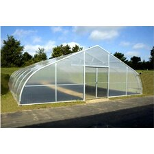"10'4"" H x 0' W x 24' D PT30 Steel Polyethylene Commercial Greenhouse"