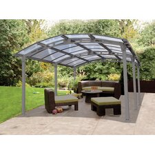 Arcadia 8ft. H x 12ft. W x 17ft. D Carport Patio Cover Kit