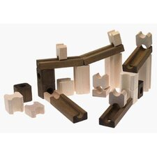 Wood Construction 60 pieces Basic Builder Set