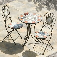 Star 3 Piece Round Dining Set