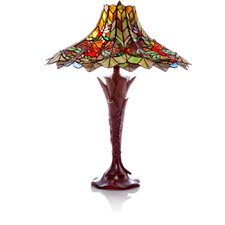 """Stained Glass Bouquet of Elegance 24.5"""" Table Lamp"""