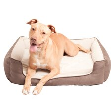 Posh and Plush Cozy Bolster Dog Bed