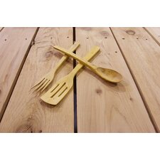 Handcrafted Boxwood Big German Fork