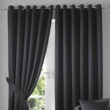 Madison Lined Eyelet Curtain Set