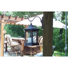 Solar Lantern Sconce Glass
