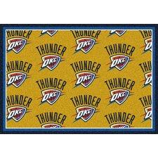 NBA Team Repeat Oklahoma City Thunder Novelty Rug