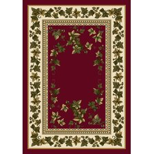 Signature Ivy Valley Brick Area Rug