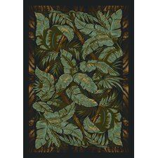 Signature Jungle Fever Ebony Area Rug