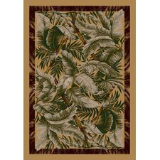 Signature Jungle Fever Light Maize Area Rug