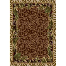 Signature Jungle Safari Pearl Mist Area Rug