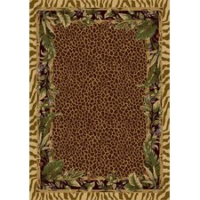 Signature Jungle Safari Pale Topaz Rug