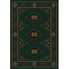 Signature Prairie Star Emerald Area Rug