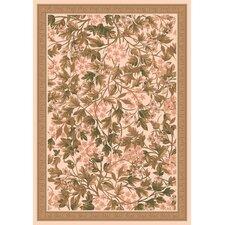 Pastiche Delphi Floral Sand Brown Rug