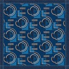 Pastiche Modernes Phantom Blue Area Rug