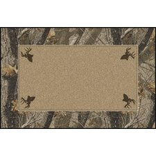 <strong>Milliken</strong> Realtree Hardwoods Solid Center Novelty Rug