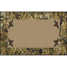 Realtree Wetlands Solid Center Novelty Rug