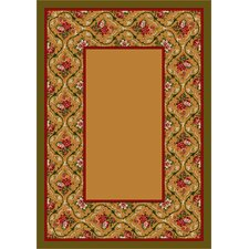 Design Center Bouquet Lace Maize Rug