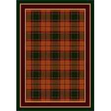 <strong>Milliken</strong> Design Center Magee Plaid Amber Emerald Rug