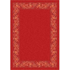 Modern Times Sonata Indian Red Area Rug