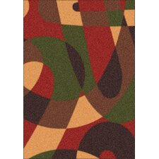 Modern Times Element Russet Area Rug