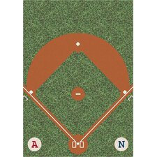 My Team Sport Dreamfield Novelty Area Rug