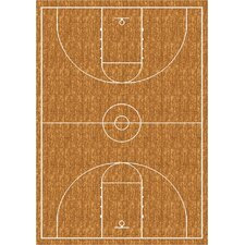 My Team Sport Hoopster Novelty Rug